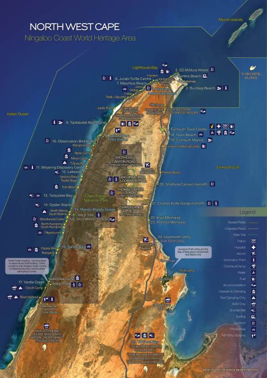 North West Cape Map_THUMBNAIL